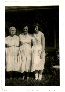 My great grandmother, Helen. My granny Mary, and my beautiful mama, Marthella.